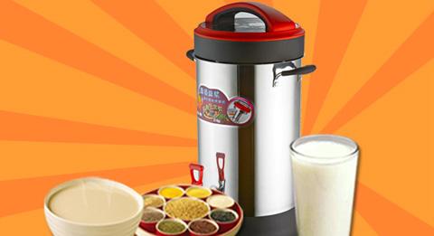 商用自动豆浆机的工作原理及其特点