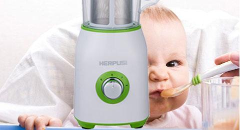 婴儿辅食料理机选择惠尔普斯家用多功能搅拌机