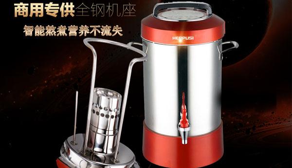 商用豆浆机的智能熬煮技术