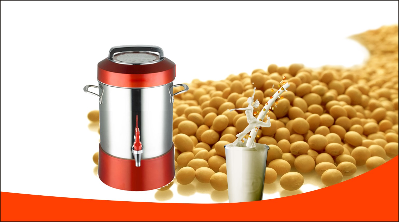 豆浆制作选择惠尔普斯小型商用豆浆机