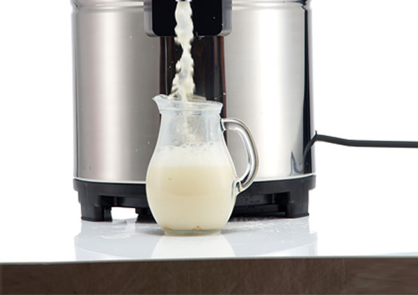 智能商用豆浆机操作方法